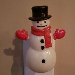 Snowman Bath & Body Works Wallflower plugin